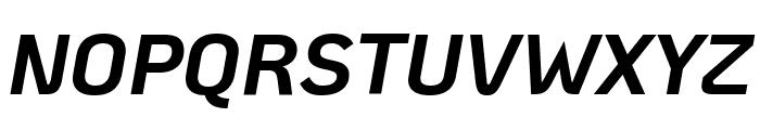 KoHo Bold Italic Font UPPERCASE