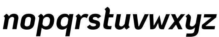 KoHo Bold Italic Font LOWERCASE