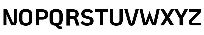 KoHo Bold Font UPPERCASE