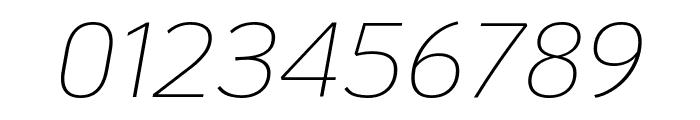 KoHo ExtraLight Italic Font OTHER CHARS