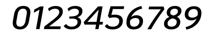 KoHo SemiBold Italic Font OTHER CHARS