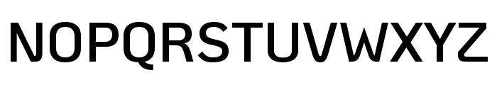 KoHo SemiBold Font UPPERCASE