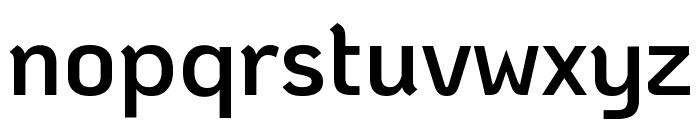 KoHo SemiBold Font LOWERCASE