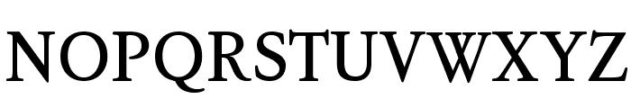 KoPub Batang Bold Font UPPERCASE