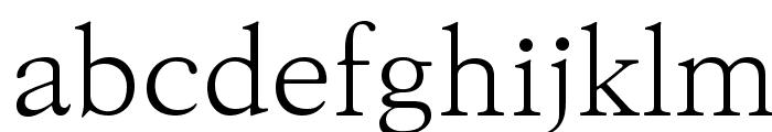 KoPub Batang Light Font LOWERCASE