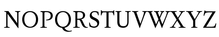 KoPubBatang Regular Font UPPERCASE