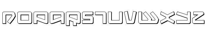 Kobold 3D Font UPPERCASE