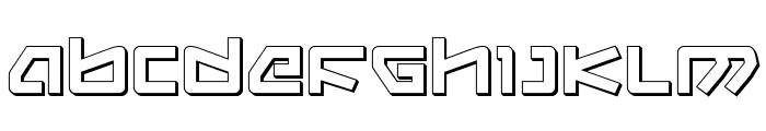 Kobold 3D Font LOWERCASE