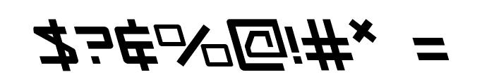Kobold Leftalic Font OTHER CHARS