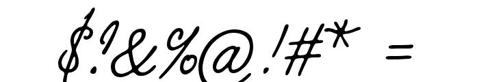 KobzarKS Font OTHER CHARS