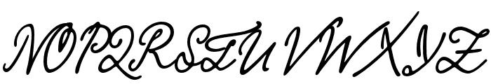 KobzarKS Font UPPERCASE