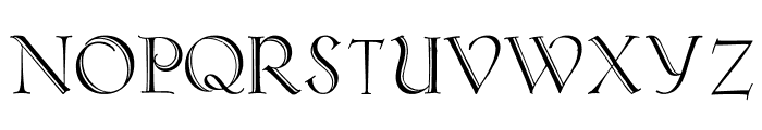 Koch-AntiquaZier Font UPPERCASE