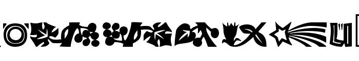 Koch Dingbats Font LOWERCASE