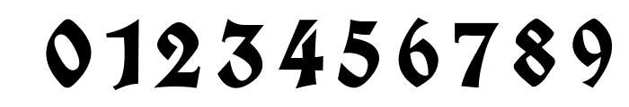 Koch Fette Deutsche Schrift UNZ1A Italic Font OTHER CHARS