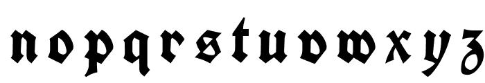 Koch Fette Deutsche Schrift UNZ1A Italic Font LOWERCASE