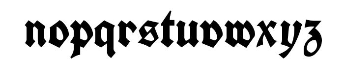 Koch Fette Deutsche Schrift UNZ1A Font LOWERCASE