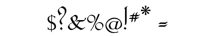 KochAltschrift Font OTHER CHARS