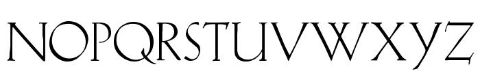 KochAltschrift Font UPPERCASE