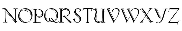 KochAltschriftAlt Font UPPERCASE