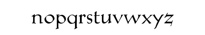 KochAltschriftAlt Font LOWERCASE