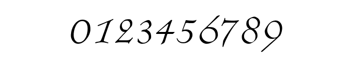 KochAltschriftKursiv Font OTHER CHARS