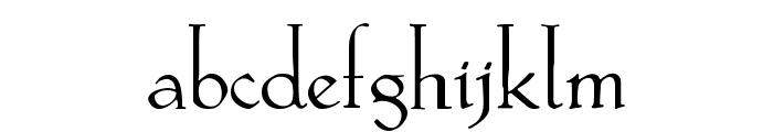 KochAltschrift Font LOWERCASE