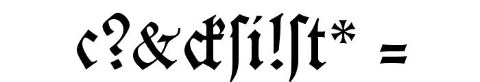 KochFraktur Font OTHER CHARS