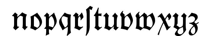 KochFraktur Font LOWERCASE