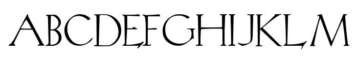 KochRead Font UPPERCASE