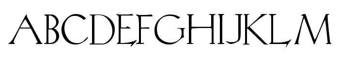 KochRoman Font UPPERCASE