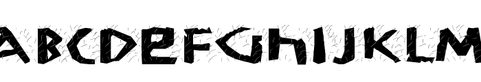 KochWoodcut Font UPPERCASE