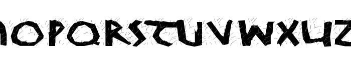KochWoodcut Font LOWERCASE