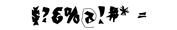 KochsGries Font OTHER CHARS
