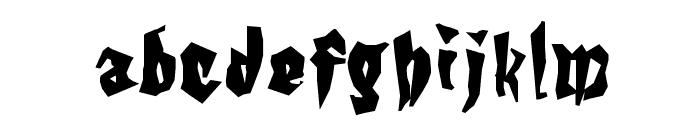 KochsGries Font LOWERCASE
