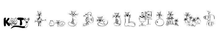 KocieSymbole Font LOWERCASE
