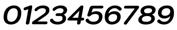 Kodchasan Bold Italic Font OTHER CHARS