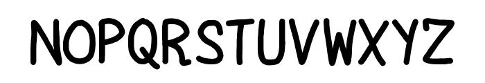 Kodomoppoi Font UPPERCASE