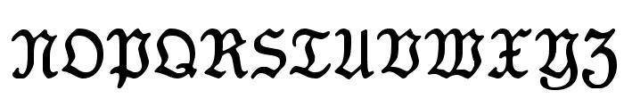 Koenig-Type Mager Font UPPERCASE