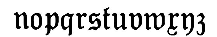 Koenig-Type Mager Font LOWERCASE