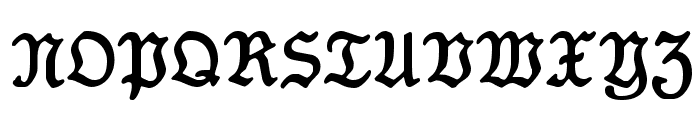 Koenig-Type Font UPPERCASE