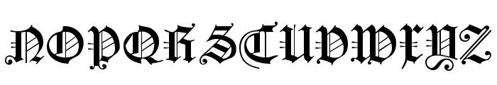KoenigsbergerGotisch Font UPPERCASE