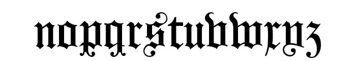 KoenigsbergerGotisch Font LOWERCASE