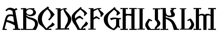 Kogaion SC FR v3.9 Font UPPERCASE