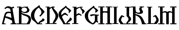 Kogaion SC FR v3.9 Font LOWERCASE