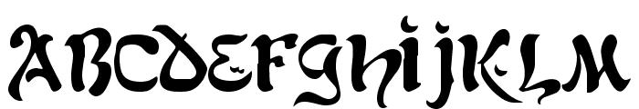 Kohelet Regular Font UPPERCASE