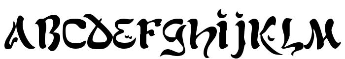 Kohelet Regular Font LOWERCASE