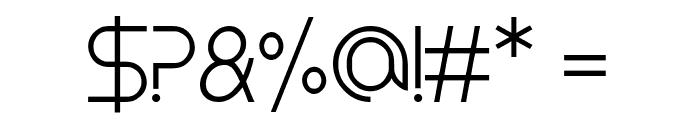 Koln Messe-Deutz Font OTHER CHARS
