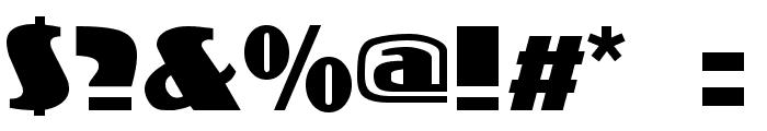 Koloss Font OTHER CHARS