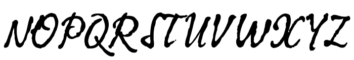KomaLatin Font UPPERCASE