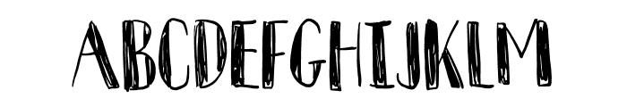 Komfortabel DEMO Regular Font UPPERCASE